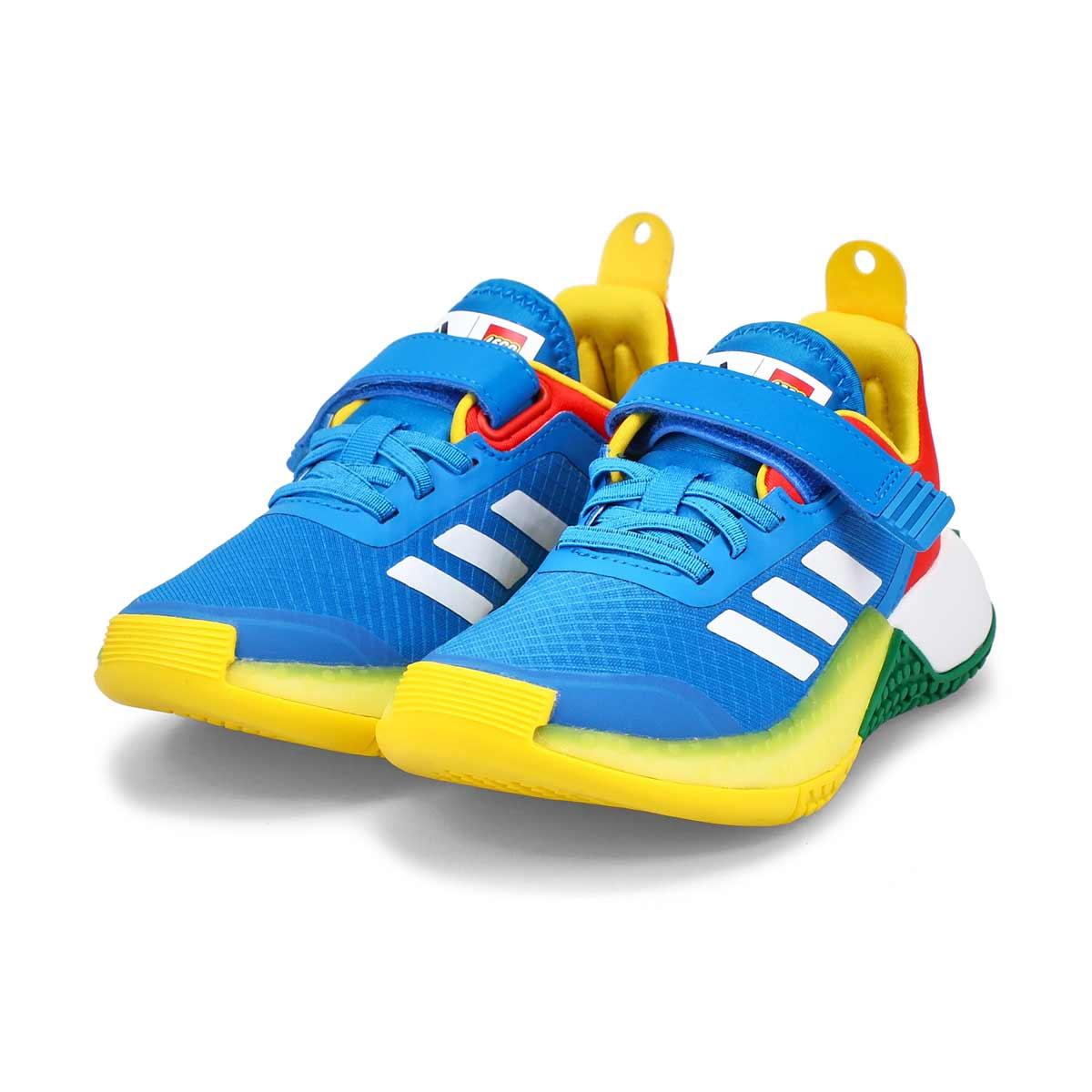 Boy's Lego Explorer EL K Sneaker - Blue/Red