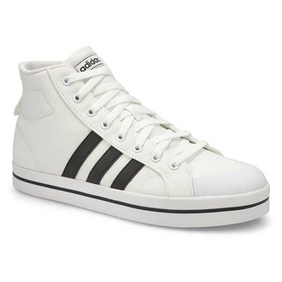 Men's BRAVADA MID white/black hi top sneakers