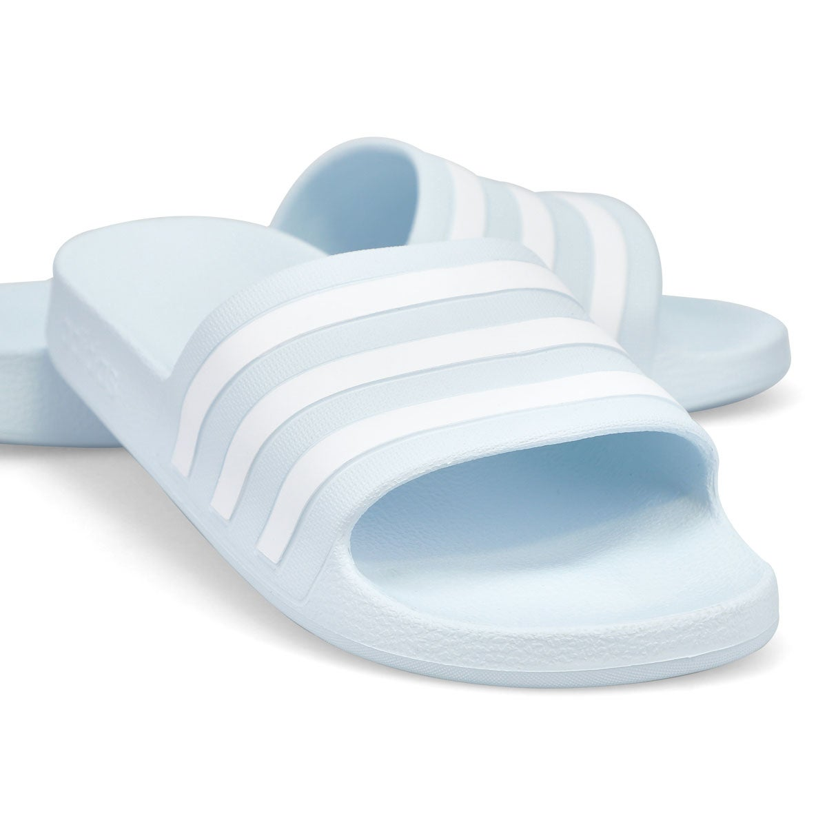 Women's Adilette Aqua Halo Slide Sandal - Blue/Wht