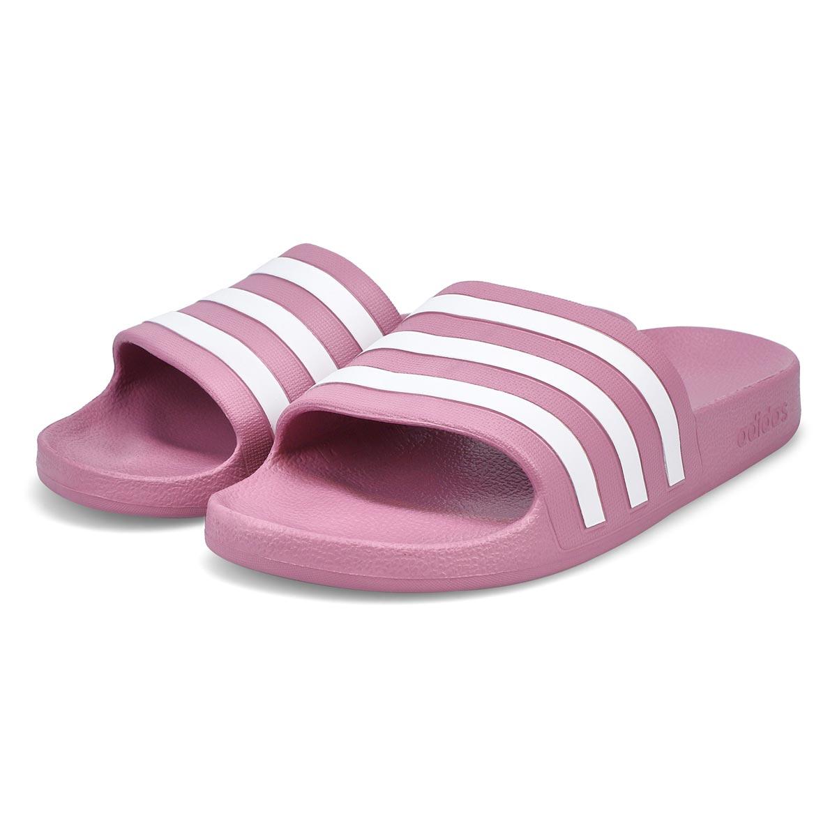 Women's Adilette Aqua Slide Sandal - Cherry/White