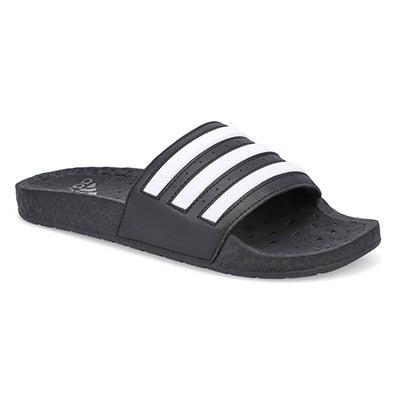 Mns Adilette Boost Slide-Black/White