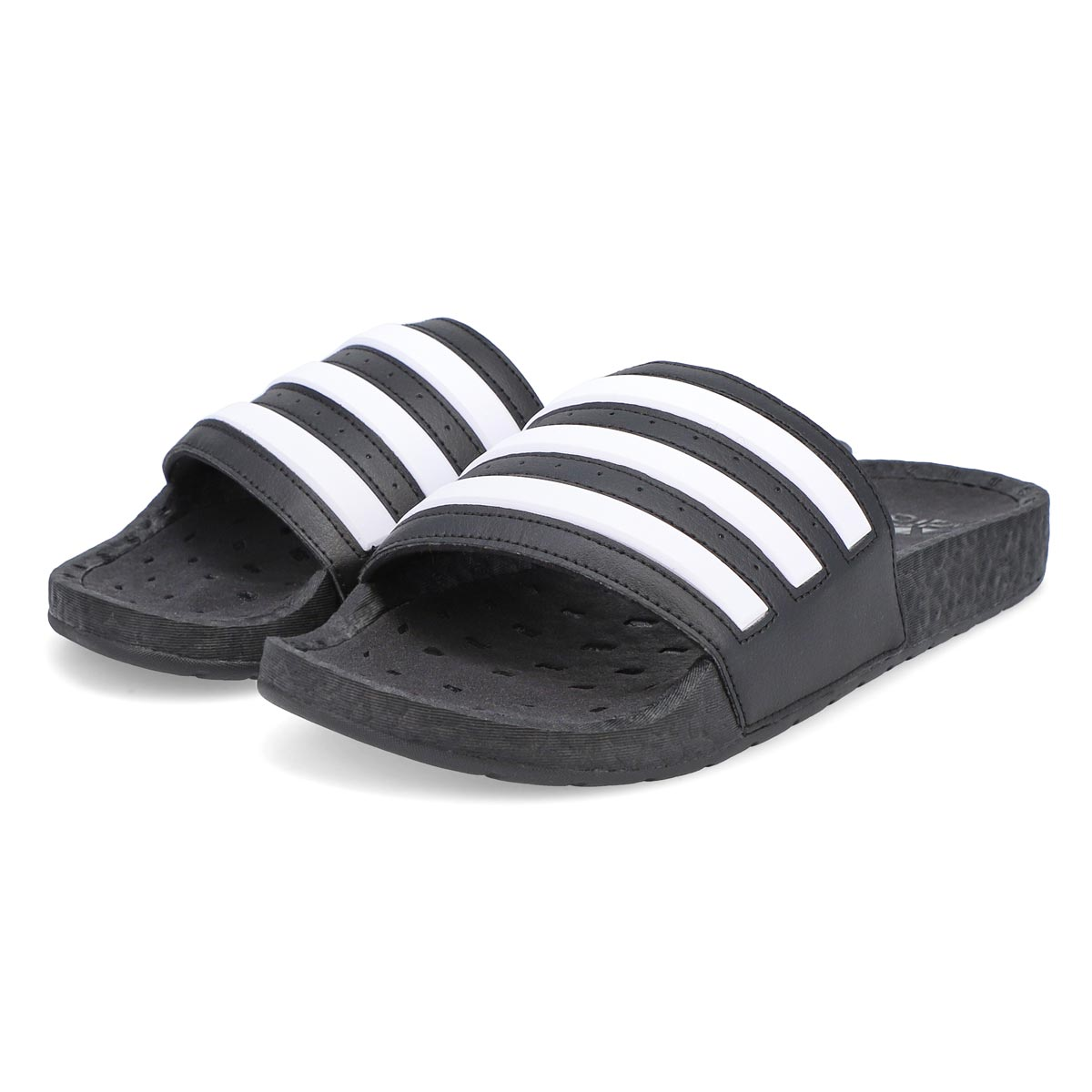 Men's Adilette Boost Slide - Black/White