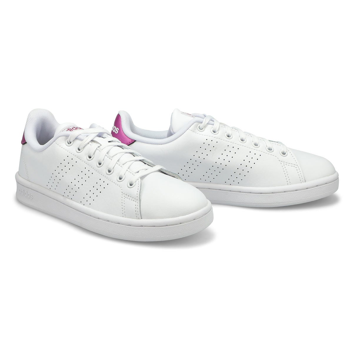 Women's Advantage Sneaker - White /Pink