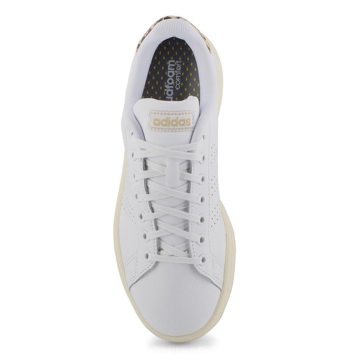 Women's Advantage Sneaker - White/Gold/Black