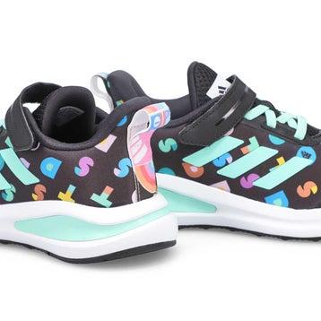 Girls' FortaRun Lego K Running Shoe - Black/Multi