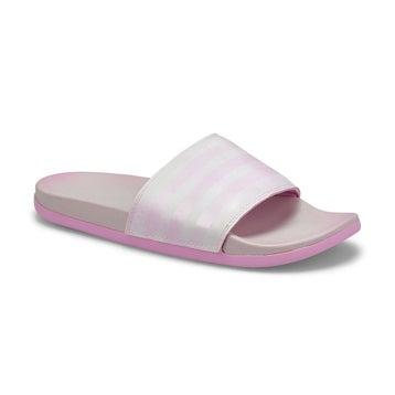 Women's Adilette CF+ Stripes W Slide - White/Lilac