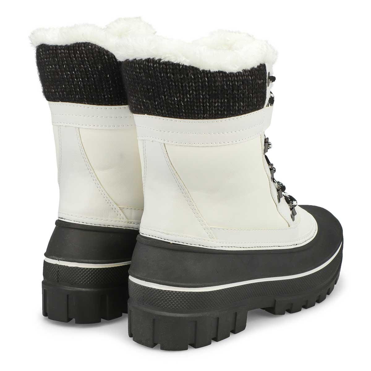 Women's GLEAM white waterpoof winter boots