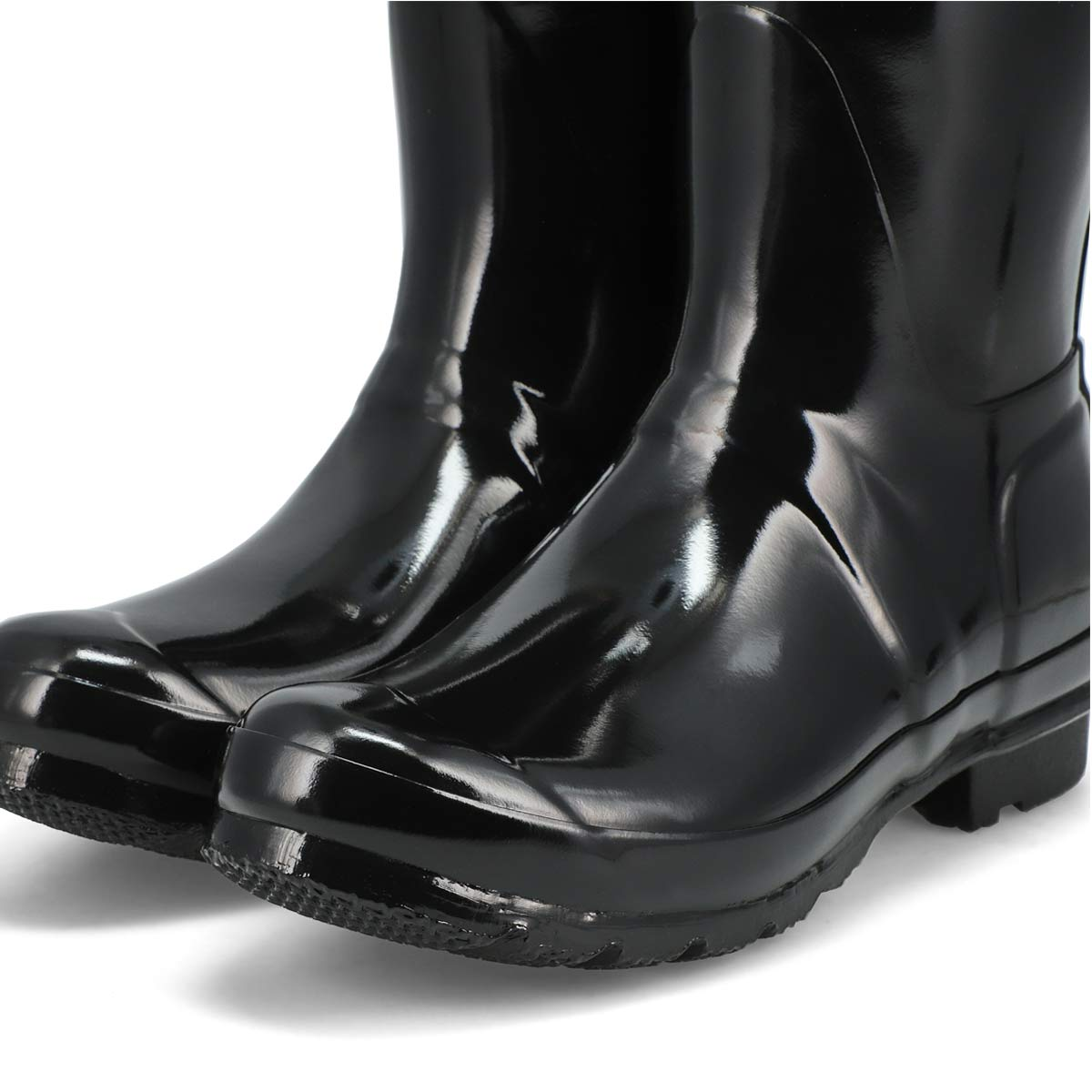 Women's Original Short Gloss Rain Boot - Black