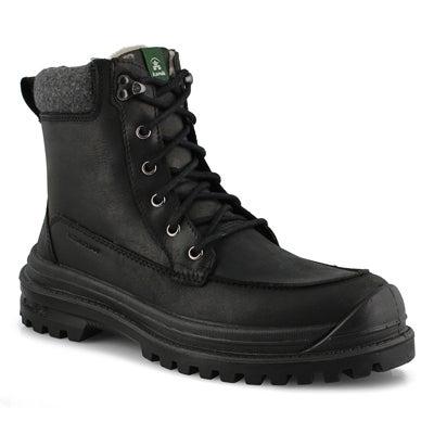 Mns Griffon black laceup wp winter boot