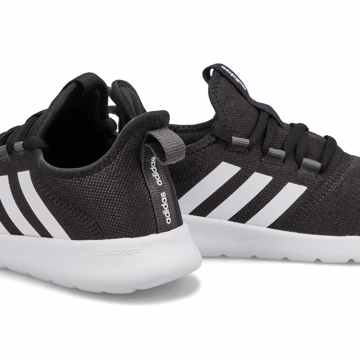 Women's Cloudfoam Pure Running Shoe - Black/White