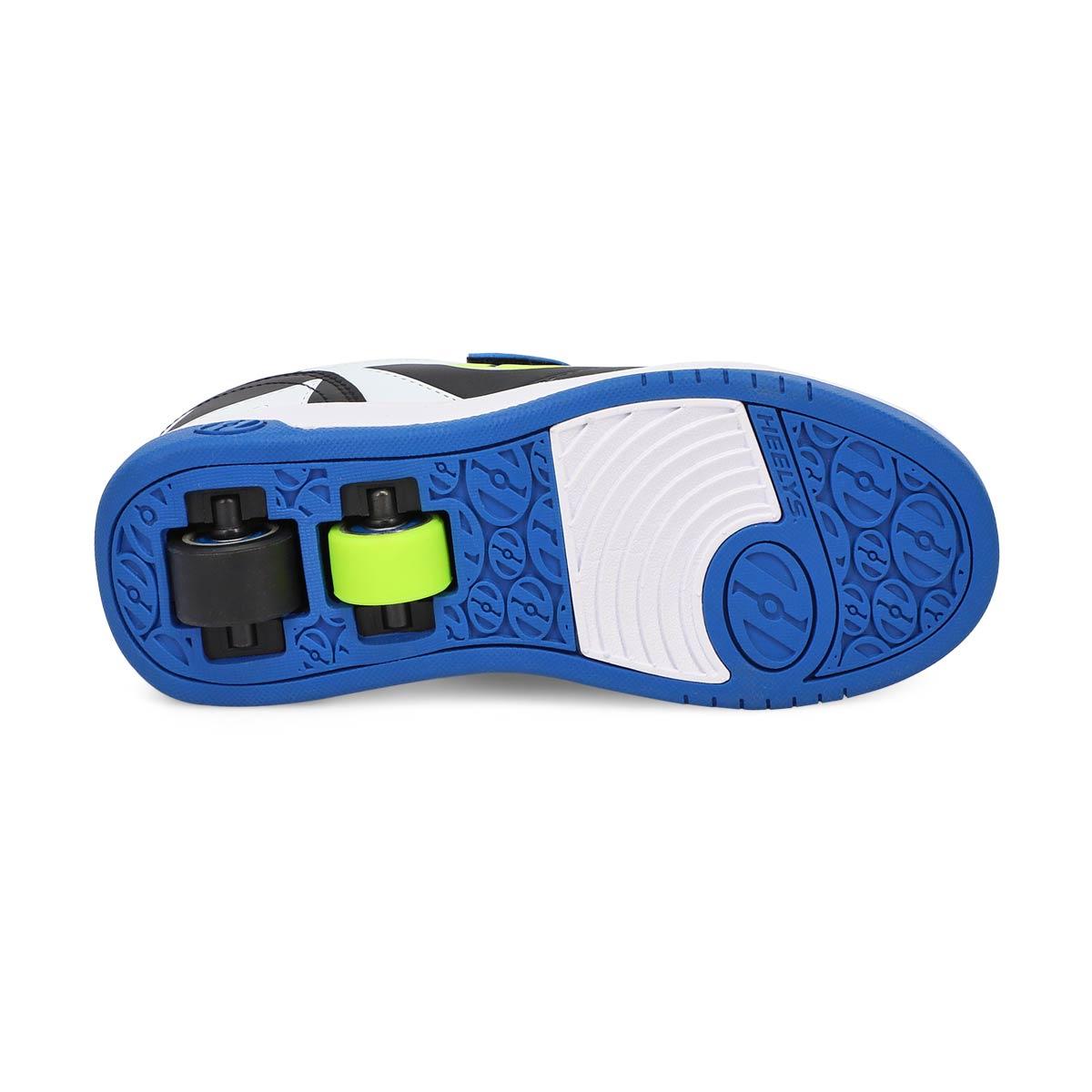 Boy's Dual Up x2 skate sneaker -  Blk/Blue/Wht