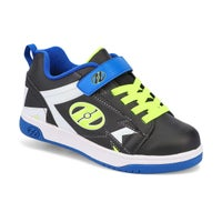 Boys' Dual Up x2 skate sneakers -  blk/blue/wht