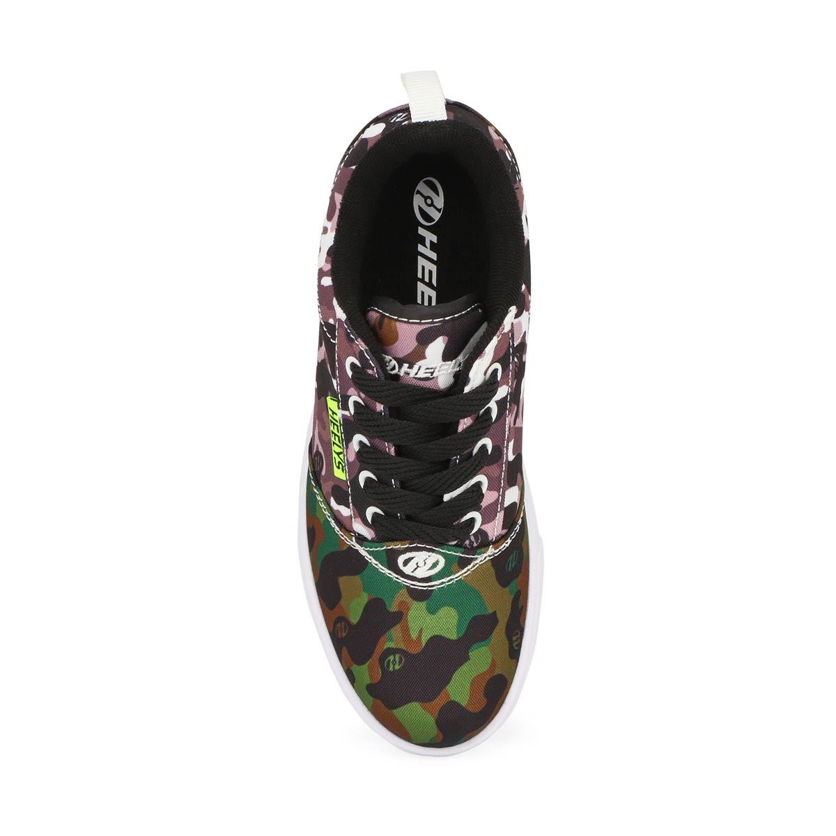 Chaussure à roulette Pro 20, garçons - Noir/Blanc