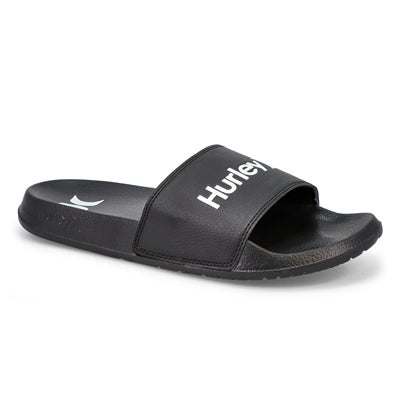Mns One & Only Sport Slide- Black