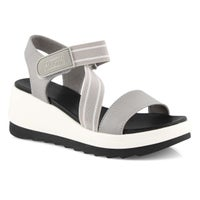 Women's HIBISCUS fossil wedge sandals