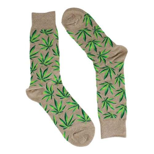 Chaussette impriméMarijuana,cannabis,hom