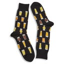 Hot Sox Men's BEER black printed socks
