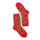 Hot SoxWomen's MARIJUANA hot pink printed socks