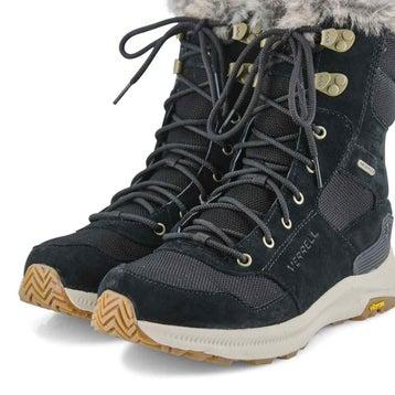 Women's ONTARIO tall black winter boots