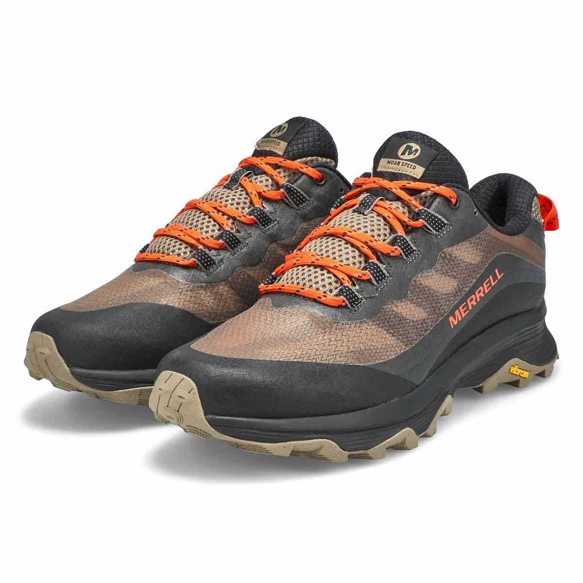 Men's Moab Speed Waterproof Hiking Shoe - Brindle
