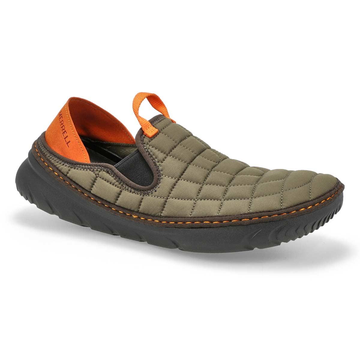 Men's Hut Moc Nylon Slip On Shoe - Olive