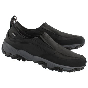 Men's COLDPACK ICE black waterproof shiver mocs
