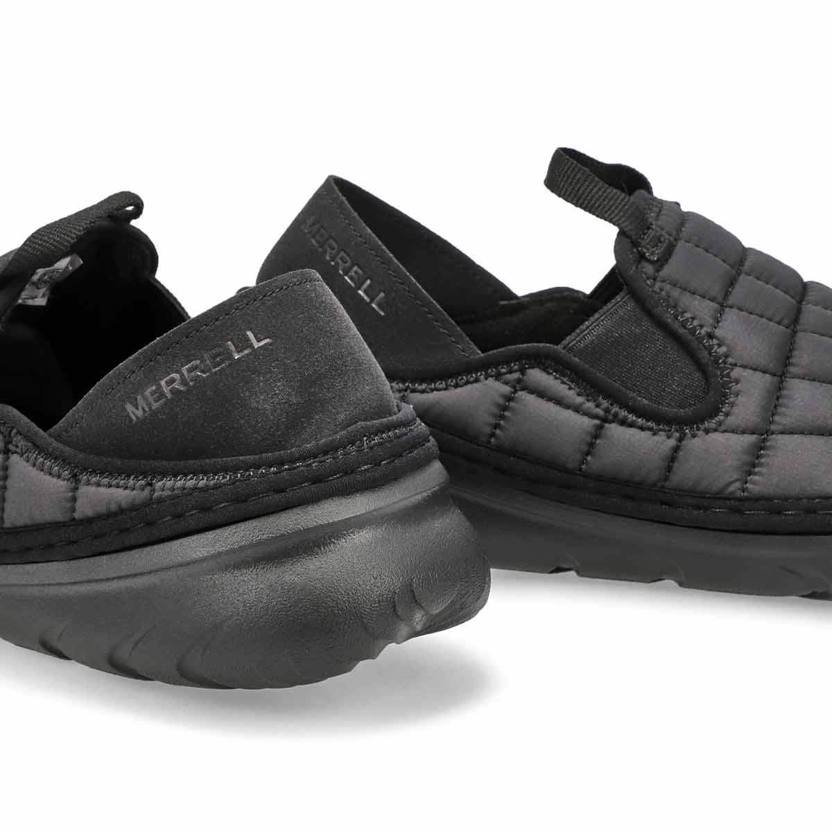Men's Hut Moc Nylon Slip On Shoe - Black
