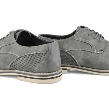 Men's JACK 2 grey lace up casual oxfords