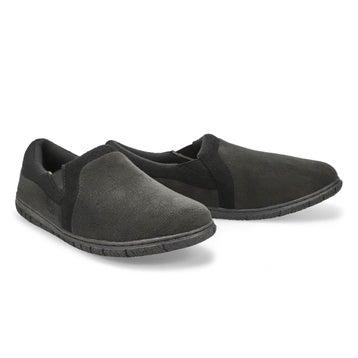 Men's Jacob  Memory Foam Slipper - Black