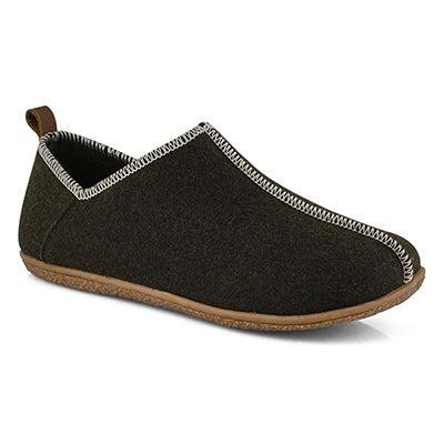 Mns Jester olive slipper bootie