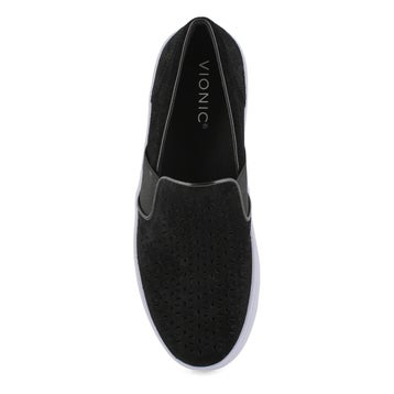 Women's KANI black casual slip on loafers