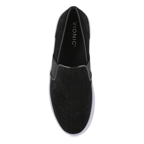 Lds Kani black casual slip on loafers