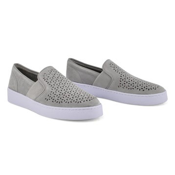 Women's KANI light grey casual slip on loafers