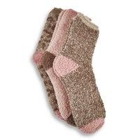 Women's Sand Marl Sock -  Multi Coloured 3pk