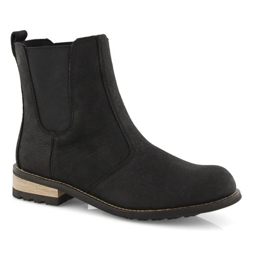 Lds Alma black wtpf chelsea boot
