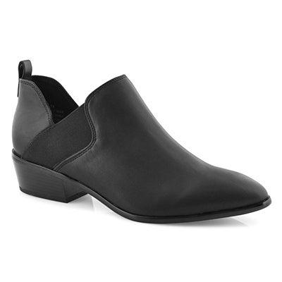 Lds Kendra black vegan dress heel