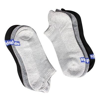 KedsWomen's SOLID blk/gry extra low cut socks - 6 pk