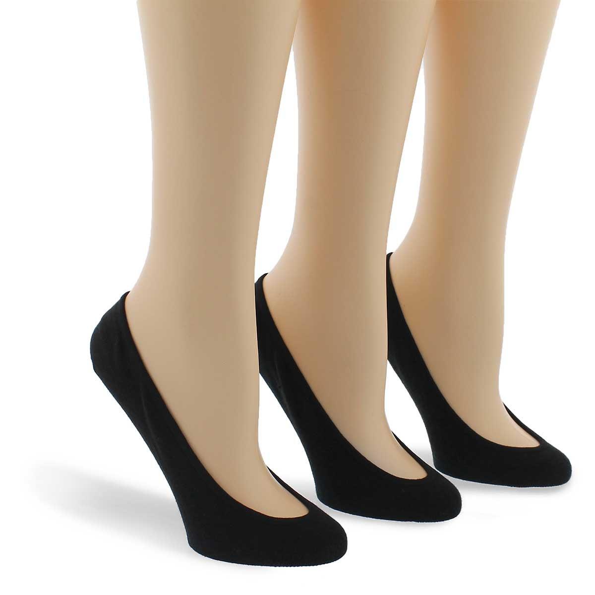 Women's SEASONLESS CORE black liners - 3pk