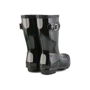 Infants' Original Little Gloss Rain boot - Black