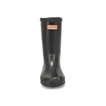 Infants' First Classic Gloss Rain Boot - Black