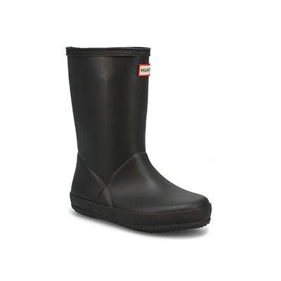 Infs First Classic black rain boot