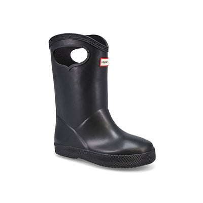 Infs First Classic Pull On blk rainboot