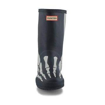 Infants' First Classic Skeleton Rain Boot - Black