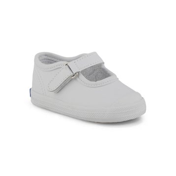 Infants' CHAMPION TOE CAP MJ white Mary Janes