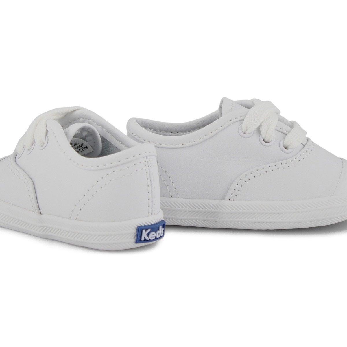 Infants' CHAMPION LACE TOE CAP white sneakers
