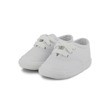 Infants' CHAMPION LACE TOE CAP white sneakers
