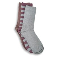 Women's Marl Rugby Crew Sock - Multi 3pk