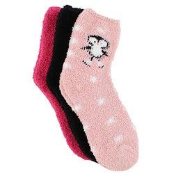 Lds Skating Penguin multi thick sock -3p