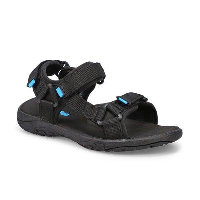 Kds Lacy black sport sandal