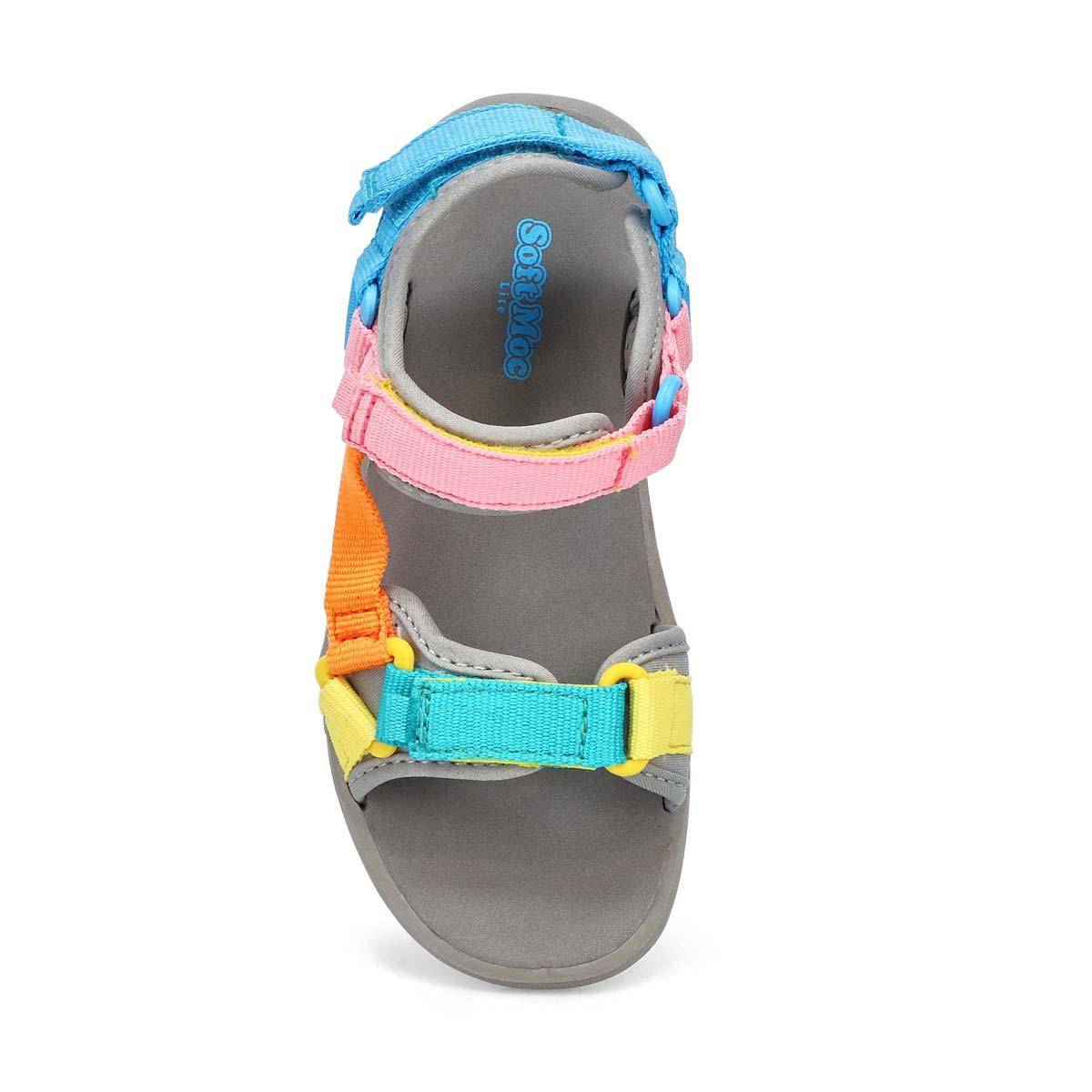 Girls' Lacy Sport Sandal - Multi